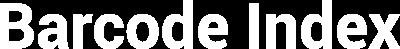 Image of Barcode Index logo