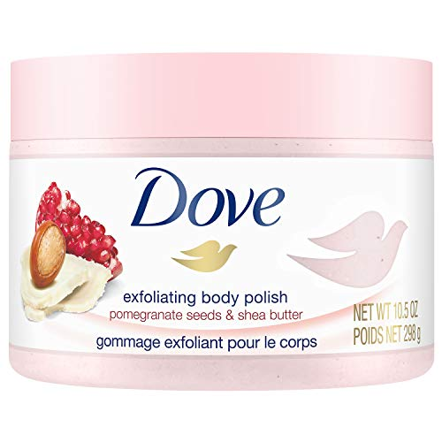 Upc 011111002029 Dove Exfoliating Body Polish Body Scrub Pomegranate Shea 10 5 Oz Barcode Index