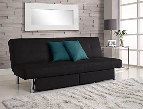 Upc 029986203700 Dhp Sola Convertible Sofa Futon W Space Saving