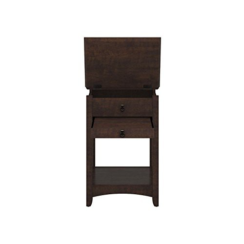 e6e97ab0696 Bush Buena Vista Laptop End Table in Madison Cherry
