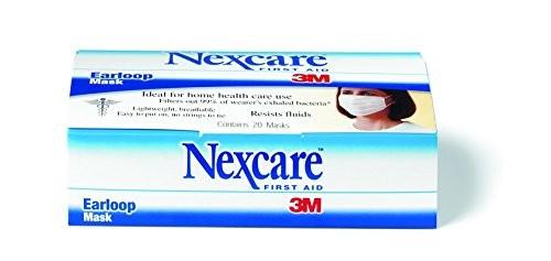 3m nexcare earloop mask