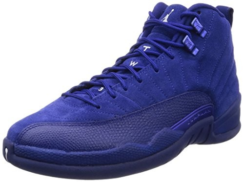 UPC 091204430090. Nike Mens Air Jordan 12 Retro Deep Royal Blue Suede Size 9 38a681458
