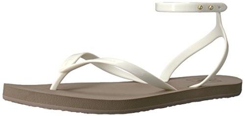 8f693010897cf Reef Womens Stargazer Wrap Sandal Taupe Grey
