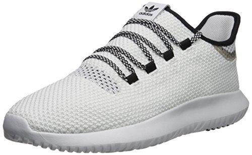 adidas Originals Men's Tubular Shadow CK, WhiteWhiteCore Black, 10 M US