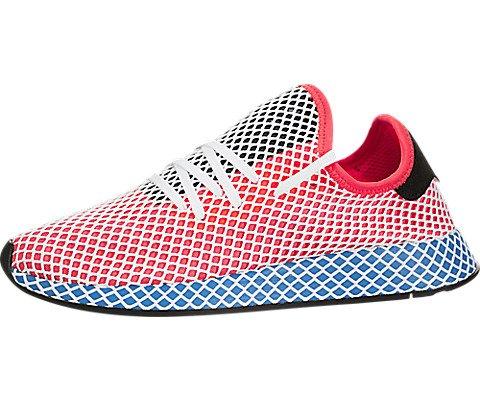 quality design 0eb59 3d50e UPC 191031937998. adidas Mens Originals Deerupt Runner Solar RedBlue Bird  ...