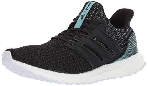 adidas Men's Ultraboost Parley Running Shoe, BlackWhite, 8.5 M US