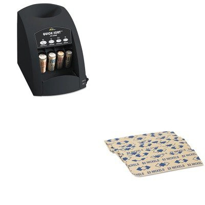 KITPMC53005RSICO1000 - Value Kit - Pm Company Tubular Coin Wrappers  (PMC53005) and Royal Sovereign Fast Sort CO-1000 One-Row Coin Sorter  (RSICO1000)