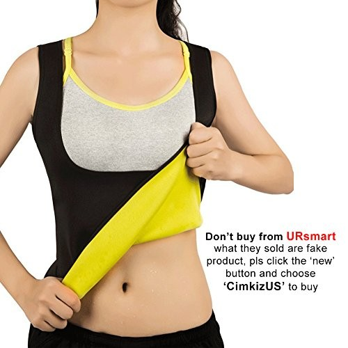 22affd0543 UPC 600682812092. Women Hot Sweat Vest Neoprene Sauna Vest For Weight Loss  Tummy Fat Burner Slimming Shapewear Hot Thermo ...