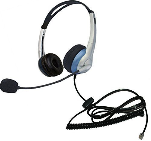 Upc 600686561224 Voistek Corded Call Center Telephone Headset Rj9 Headphone With Mic Noise Cancelling For Aastra Polycom Mitel Office Landline Phones And Call Center Binaural K Barcode Index