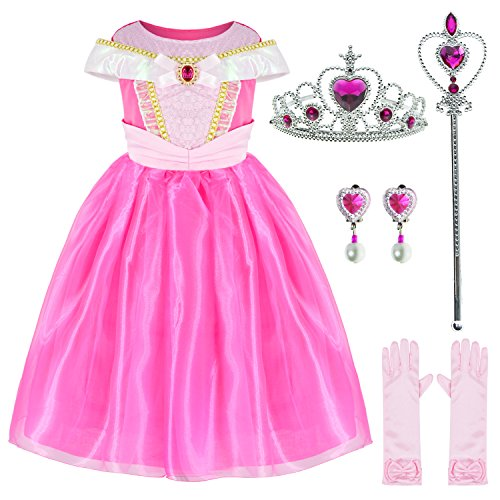 UPC 606479330596 Sleeping Beauty Princess Aurora Costume Girls Birthday Party