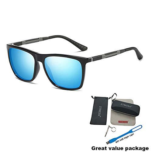 f2869483e2 UPC 613845618189. ZTMXEK Unisex Polarized Aluminum Sunglasses ...