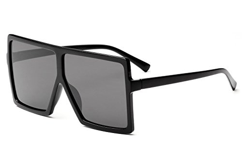 10b4525dd0d visibility · UPC 614324298786. GRFISIA Square Oversized Sunglasses for  Women Men ...