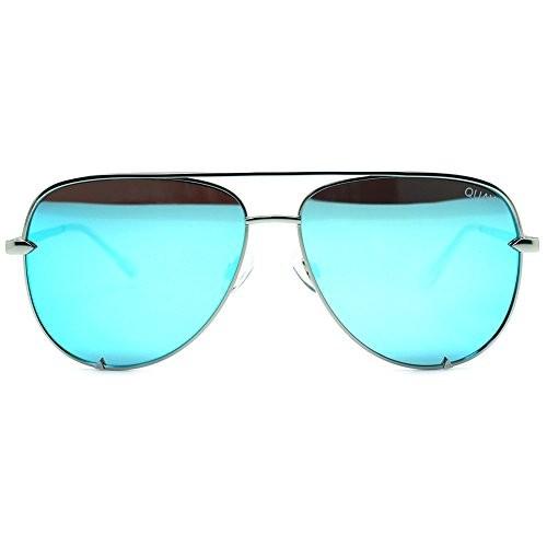 999515e814 UPC 638921395105. Quay High Key Mirror Silver Blue ...