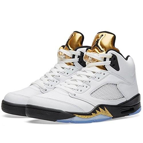best service c78b9 a978e UPC 667031493098. Nike Air Jordan 5 Retro Olympic (Gold Metal) 136027-133  ...