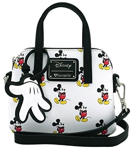 e759e66115b visibility. UPC 671803101890. Loungefly x Disney Mickey Mouse Print  Convertible Handbag ...