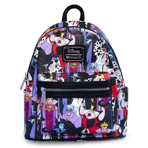 4e93539bc20 UPC 671803223707. Loungefly x Disney Villains Mini Backpack