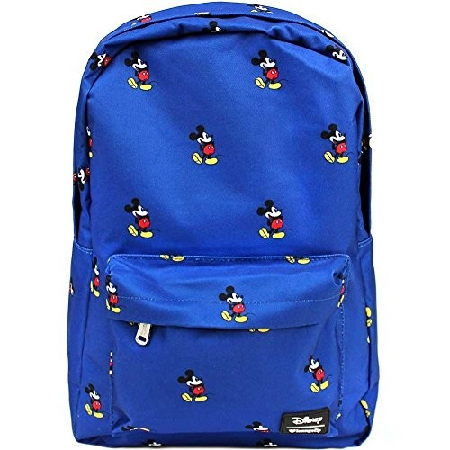 f5a0643f7d9 UPC 671803264779. Loungefly Mickey Mouse Backpack Navy