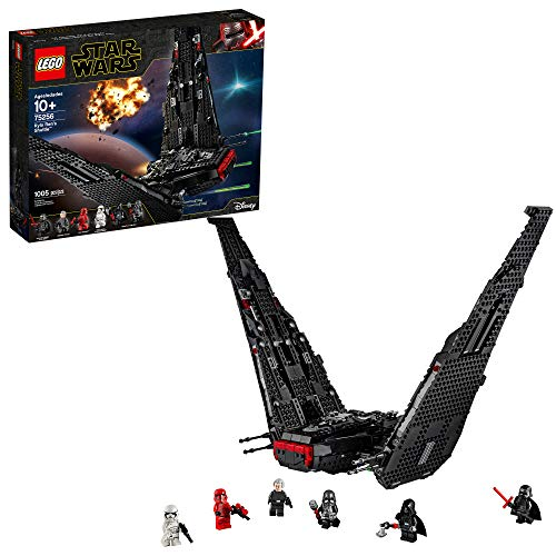 Upc 673419317535 Lego Star Wars The Rise Of Skywalker Kylo Ren S Shuttle 75256 Star Wars Shuttle Action Figure Building Kit New 2019 Barcode Index