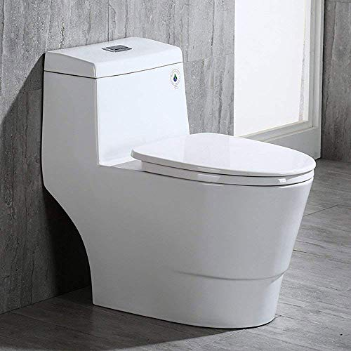 Brilliant Upc 680226414098 Woodbridge T 0019 Dual Flush Elongated Lamtechconsult Wood Chair Design Ideas Lamtechconsultcom