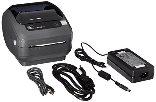 Zebra GX420d Monochrome Desktop Direct Thermal Label Printer with Fast  Ethernet Technology, 6 in/s Print Speed, 203 dpi Print Resolution, 4 09