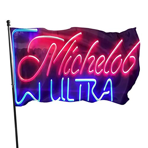 7xingbeidou Michelob Ultra Flag Outdoor Flags 100/% Single-Layer Polyester 3x5 Ft