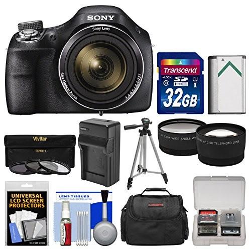 Upc 689466754803 Sony Cyber Shot Dsc H400 Digital Camera With 32gb
