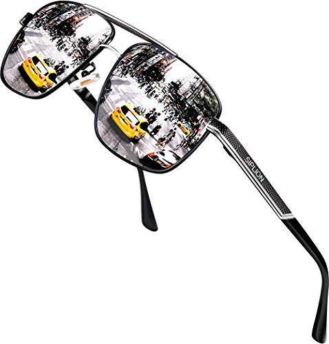 0744e5d3430 UPC 701256767128. SIPLION Men s Driving Polarized Rectangular Square  Sunglasses Metal Frame 1823 Silver