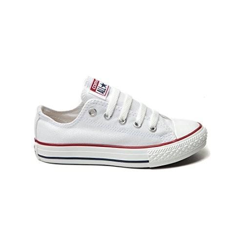 994d5cb0621c Converse Unisex Chuck Taylor All Star Ox Sneakers Optical White M7652 (6.5  men/ 8.5 women)