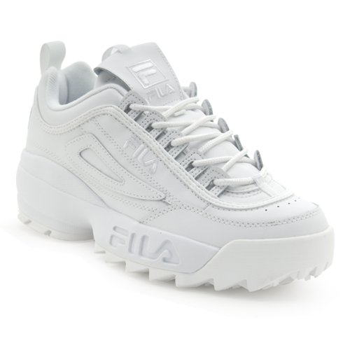 Fila Disruptor II Sneaker, Triple White