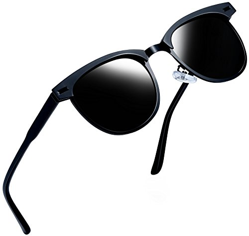cb0c926928 UPC 755170741030. Joopin Semi Rimless Polarized Sunglasses Women Men Retro  Brand ...