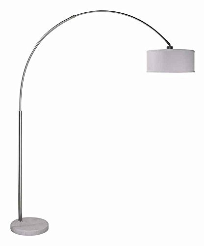 0483dbf163453 UPC 786072001588. Milton Greens Stars Sophia Adjustable Arc Floor Lamp with Marble  Base