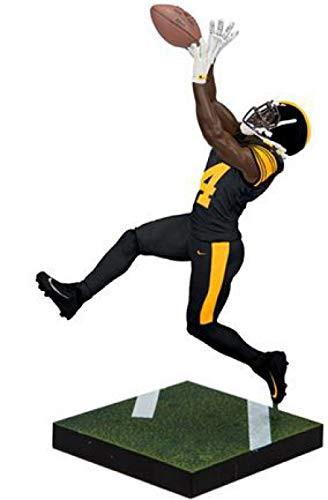 McFarlane NFL EA Sports Madden 19 Ultimate Team Series 1 Antonio Brown  Action Figure  Black Pants  7fb033298