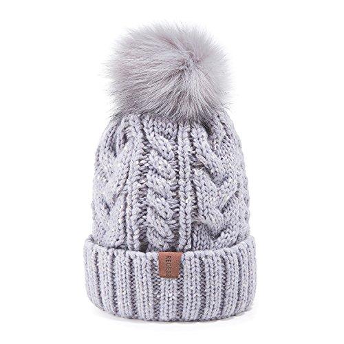 UPC 795042084612. REDESS Women Winter Pom Pom Beanie Hat ... 04c833f72f2