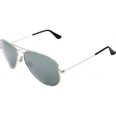 ray ban sonnenbrille aviator l uv 400 silbern