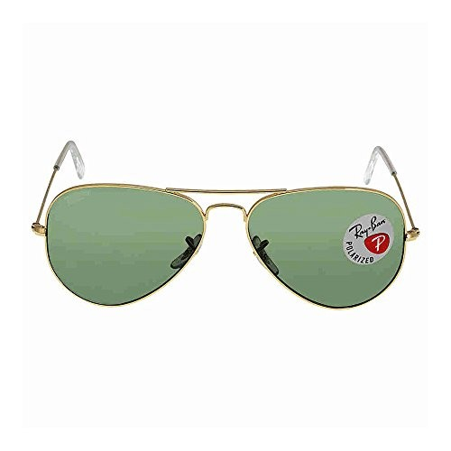 59da75cb3920 UPC 805289114567. Ray-Ban RB3025 Aviator Large Metal Sunglasses 58 mm