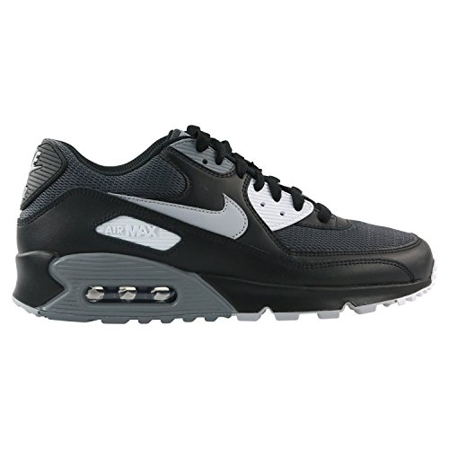 Nike Air Max 90 Essential Men s Shoes Black Wolf Grey Dark Grey aj1285-003 6df2dfc1a2f2