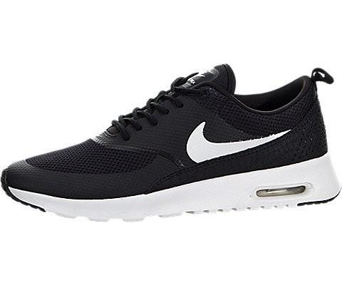 NIKE Womens Air Max Thea Running Shoes Black White 599409-020 Size 8.5 0e57a627a