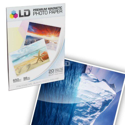Upc 843964017024 Ld Premium Glossy Inkjet Photo Paper 85 X11