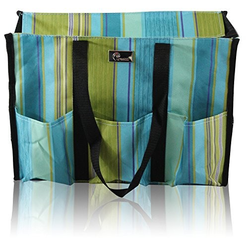 946905f931c8 UPC 851744007042. Pursetti Zip-Top Organizing Utility Tote Bag with Multiple  Pockets for Working Women ...