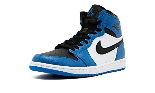 Mens Air Jordan 1 Retro High Rare Air Soar Blue Black White 332550-400 5569a9067