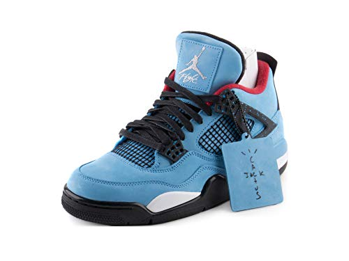 UPC 884802116189. NIKE Mens Air Jordan 4 Retro Cactus Jack University Blue Black  Suede Size 10 b43ee91af