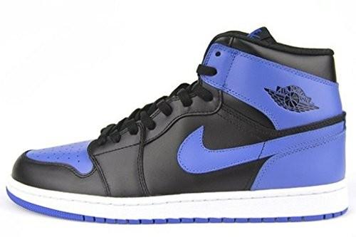 fdd6fc451008 UPC 884802327240. Nike Air Jordan 1 High Og Retro 2013 Black Royal Blue  555088-085 ...