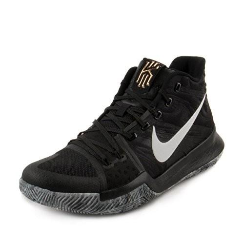 2cc69791af34 UPC 885177441074. Nike Mens Kyrie 3 BHM Black White ...