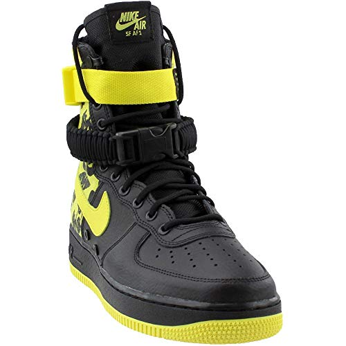 UPC 885179314932. NIKE Men s SF AIR Force 1 Shoe Black Dynamic Yellow ... ac1f5fc81