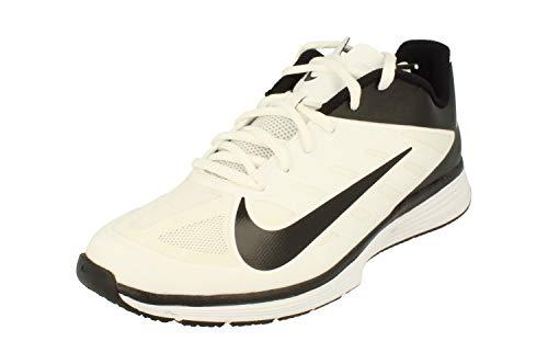 594e346b9804 UPC 886550660747. NIKE AIR Flight Huarache Ultra Mens Fashion-Sneakers  880856-100 7.5 - White Black-Lyon Blue-Bold Berry