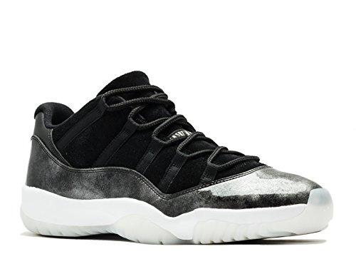 buy online 10e2c c4ffc UPC 886668225241. Air Jordan 11 Retro Low - 528895 010. Tags  Shoes Jordan  Black White Metallic Silver
