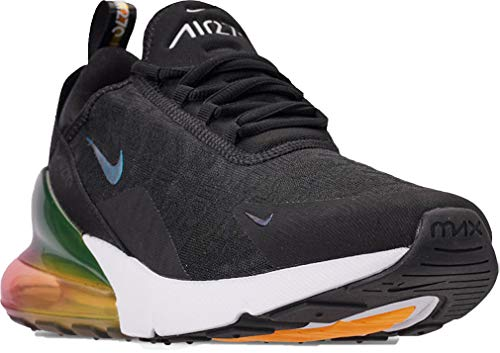 f9fcfb70e1 NIKE AIR MAX 270 SE MEN'S CASUAL SHOES (8 M US, Black/Laser Orange/Ember  Glow/Black)