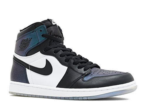 huge selection of 74d95 c2e99 Air Jordan 1 Retro High OG Men s Shoes Black Metallic Silver White  907958-015