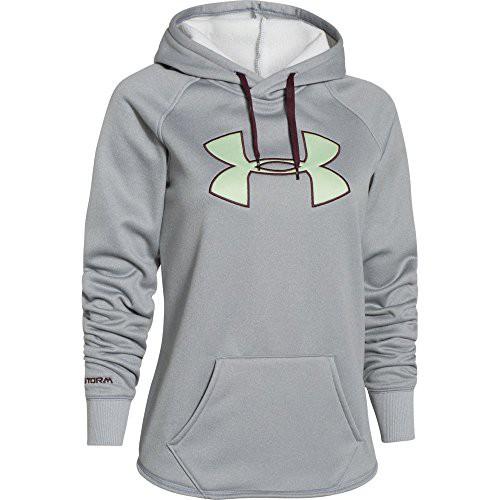 b56195c0b UPC 888376675431. Under Armour Women's UA Storm Armour® Fleece Big Logo  Hoodie Large True Gray Heather