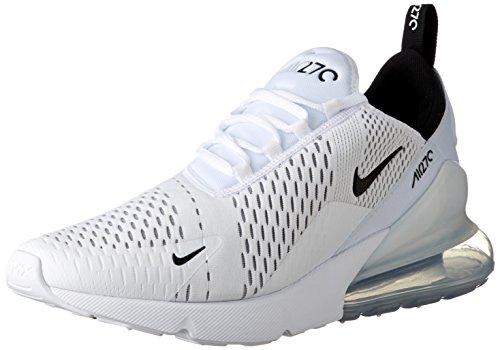 NIKE Air Max 270 Men s Running Shoes White Black-White AH8050-100 (10 D(M)  US) 675f7d742